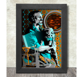 Philip K Dick Poster Print A3+ 13 x 19 in - 33 x 48 cm by rosenfeldtown