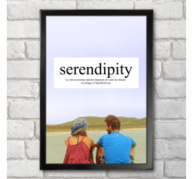 Serendipity  Poster Print A3+ 13 x 19 in - 33 x 48 cm