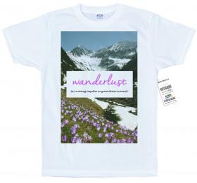 Wanderlust T shirt Design