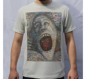The Wall - Mosaic Design T Shirt, Pink Floyd