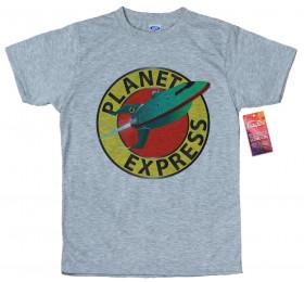 Planet Express 3D Logo T shirt Design,