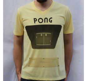 Pong Retro T shirt Design
