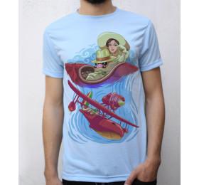 Porco Rosso T shirt Artwork