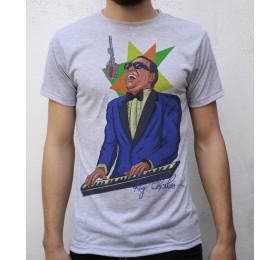 Ray Charles T shirt Artwork