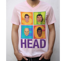 Smeg Head T shirt Artwork, Red Dwarf Inspired