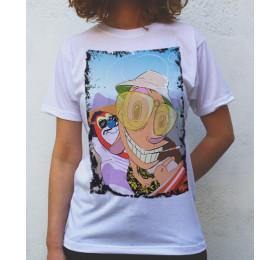 Ren and Stimpy in Las Vegas T shirt Artwork