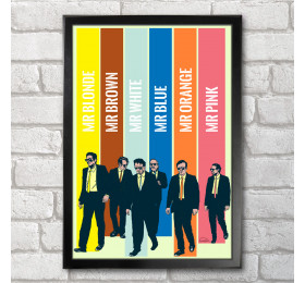 Reservoir Dogs  Poster Print A3+ 13 x 19 in - 33 x 48 cm