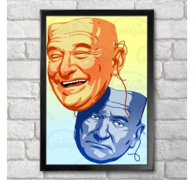 Robin Williams  Poster Print A3+ 13 x 19 in - 33 x 48 cm