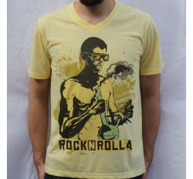 Rock n Rolla Design T Shirt