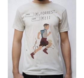 Run Forrest, Run! T Shirt Design by Tibith