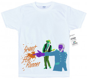 Shoot the Runner T Shirt Design