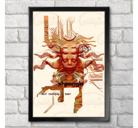 Shpongle Goddess Poster Print A3+ 13 x 19 in - 33 x 48 cm
