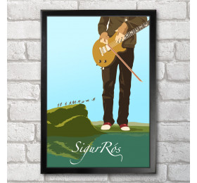 Sigur Ros Poster Print A3+ 13 x 19 in - 33 x 48 cm