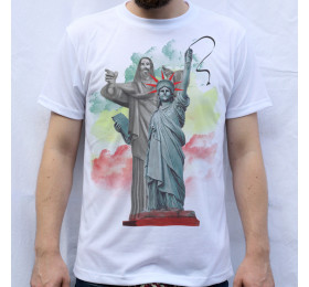 Christ the Redeemer & The Statue of Liberty T Shirt