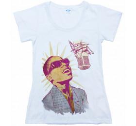 Stevie Wonder T shirt Artwork