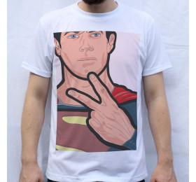 Superman Super Fingers T Shirt Design