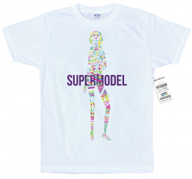 Supermodel T-Shirt Design v2, Foster the People Fan Art