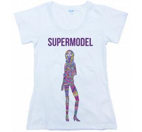 Supermodel T-Shirt Design, Foster the People Fan Art