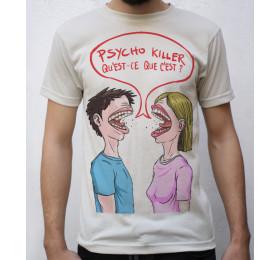 Psycho Killer T-Shirt Design, Talking Heads
