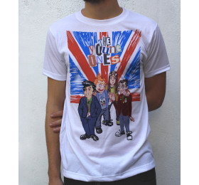 The Young Ones T shirt Artwork