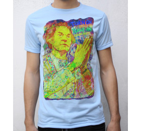 Timothy Leary T shirt Psychedelic Artwork Turn On Tune In Drop Out