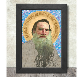Leo Tolstoy Poster Print A3+ 13 x 19 in - 33 x 48 cm