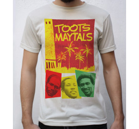 Toots and the Maytals T shirt Design