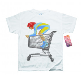 Tour De Shopping T shirt Design