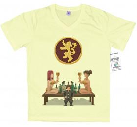 Tyrion T shirt Design, pixel art, game of thrones, 8-bit