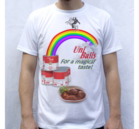 UniBalls T shirt Design, Unicorn Meatballs