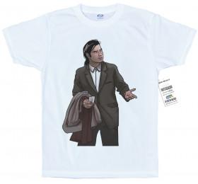 Vincent Vega T shirt Artwork #Pulp Fiction #John Travolta #Confusion Meme
