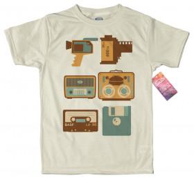 Vintage Devices T-Shirt Design