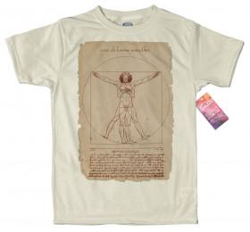 Vitruvian Man - Smartphone Design T Shirt
