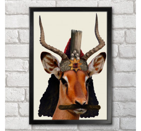 Vlad the Impala Poster Print A3+ 13 x 19 in - 33 x 48 cm