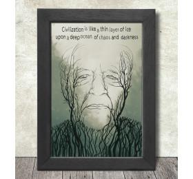 Werner Herzog Poster Print A3+ 13 x 19 in - 33 x 48 cm