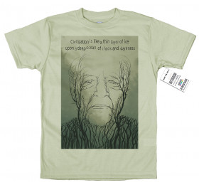 Werner Herzog T shirt Artwork
