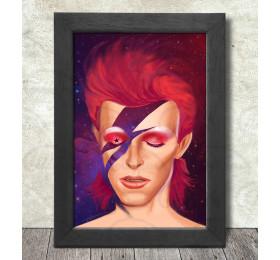 Ziggy Stardust Poster Print A3+ 13 x 19 in - 33 x 48 cm #David Bowie